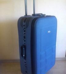 Kofer (65cm x 45cm x 25cm) boja tamno siva - NOVO