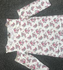 Off shoulder cvjetna majica