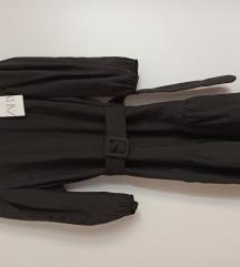 Nova xs Zara crna haljinica