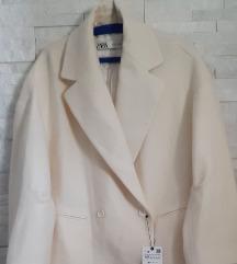 Zara kaput 100%vuna