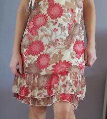Kratka flower haljina