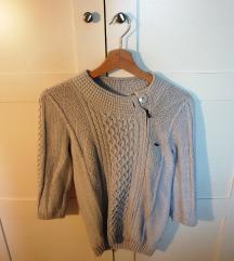 LACOSTE siva vesta (džemper)