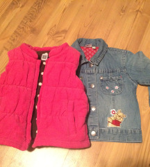 jeans jaknica i prsluk 92