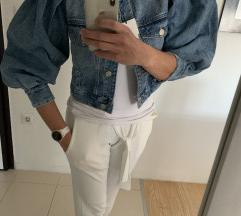 Zara volumiozna jeans jakna