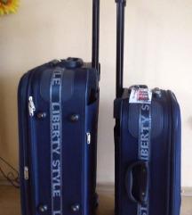 Novi koferi, set 3u1, boja tamno plava