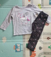🌈Komplet majica i hlačice 92