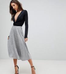 Bershka plisirana suknja