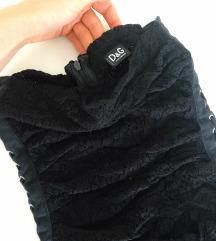 %%Dolce&Gabbana crna haljina 38