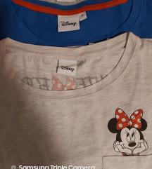 LOT: DISNEY: tri majice sa printom 15kn