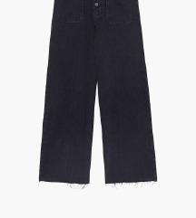 ZARA high waist traperice - culottes hlače 34/XS