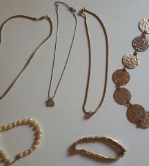 Lot ogrlice i narukvice