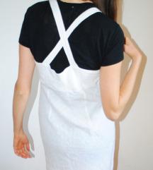 vintage bijela haljina