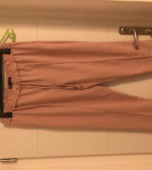 Svjetlo roze hlače zara