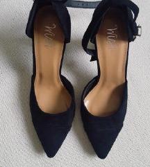 🖤 WISH NOVE crne cipele 40