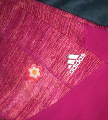 3/4 Adidas roze tajice