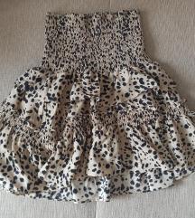 Mini suknja volani S