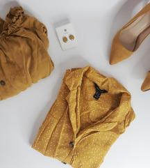 Žuti lot (sandale, 2 košulje, naušnice)