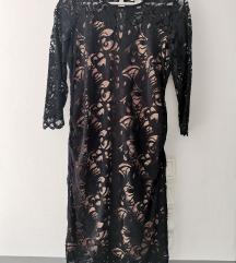 H&M čipkasta trudnička haljina