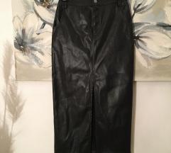 Nova Zara kožna suknja