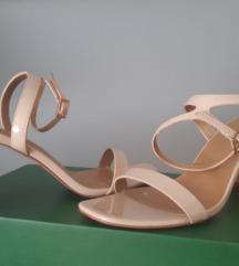 Sandale na blok petu
