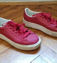 Crvene sjajne Puma tenisice