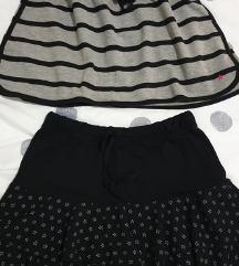Dvije pamučne suknjice