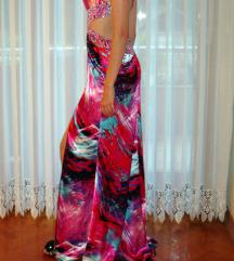 Duga svečana maturalna haljina, S / 36