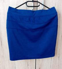 Plava suknja vel. 42 15 kn