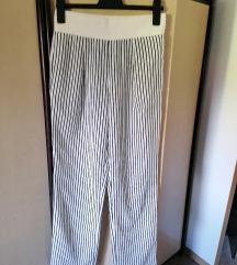 Zara široke lagane hlače