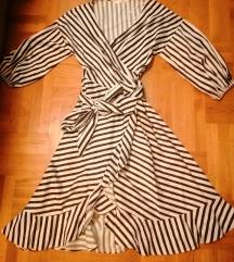 Gestuz  crno bijela haljina
