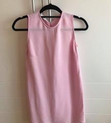 Mango roza haljina