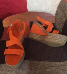 Kožne sandale nove 25,5cm