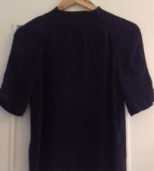 Reserved tamnoplava barokna bluza