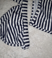 Prugasti kupaći kostim