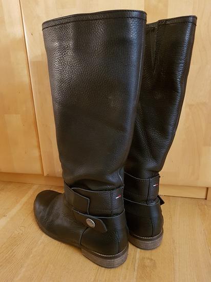 Tommy Hilfiger kožne čizme