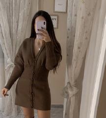 Zara pletena haljina vel. SMALL jesen/zima