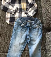 Košulja i traperice