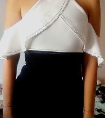 Zara off shoulder haljina
