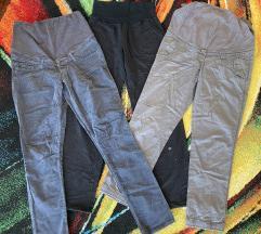LOT trudničke hlače,H&M, 40