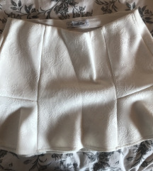 PULL&BEAR bijela suknja