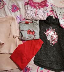 Lot odjeće 110 - 116