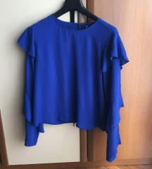 Stradivarius plava bluza/majica