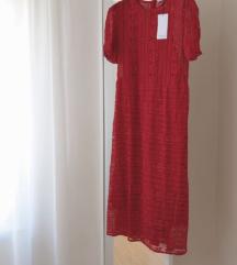 Mango Violeta čipkasta haljina