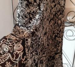 Leprsava crno bijela suknja