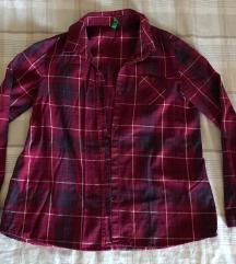 Benetton dječja karirana košulja