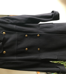 Kaput, tamnoplavi, mornarski stil