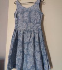 Cvjetna traper haljina