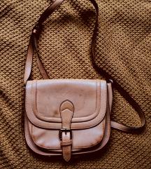 Vintage retro krem torba