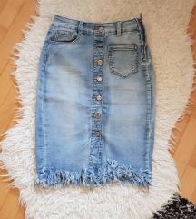 💛 Midi traper suknja s resicama