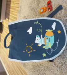 Dječji ruksak - pamuk. Pt. Uklj